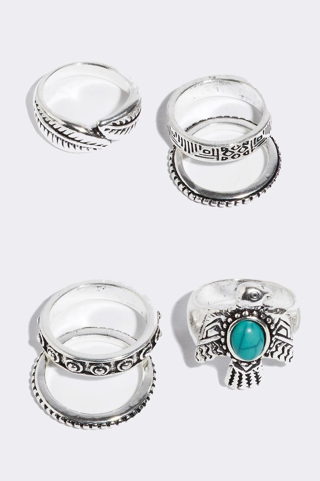 Fame Accessories Wanderlust Ring Set - Front Full Image