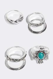 Fame Accessories Wanderlust Ring Set - Front full body
