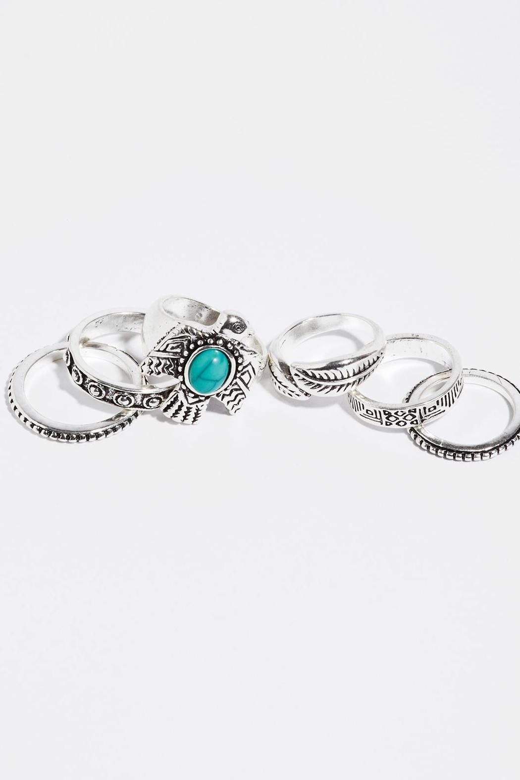 Fame Accessories Wanderlust Ring Set - Main Image