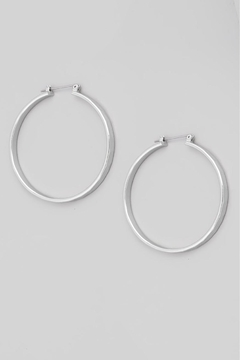 Fame Accessories Your Favorite Pair Of Hoop Earrings (Available In Silver And Gold) - Alternate List Image