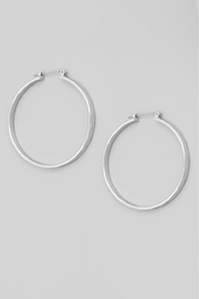 Fame Accessories Your Favorite Pair Of Hoop Earrings (Available In Silver And Gold) - Product Mini Image
