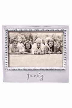 Mariposa Family 4 x 6 Beaded Frame - Product List Image