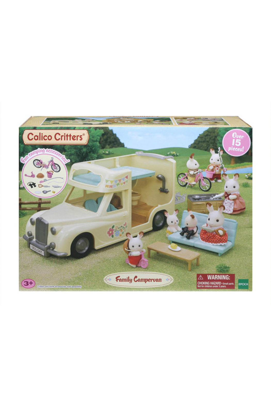 Calico Critters Family Campervan - Main Image