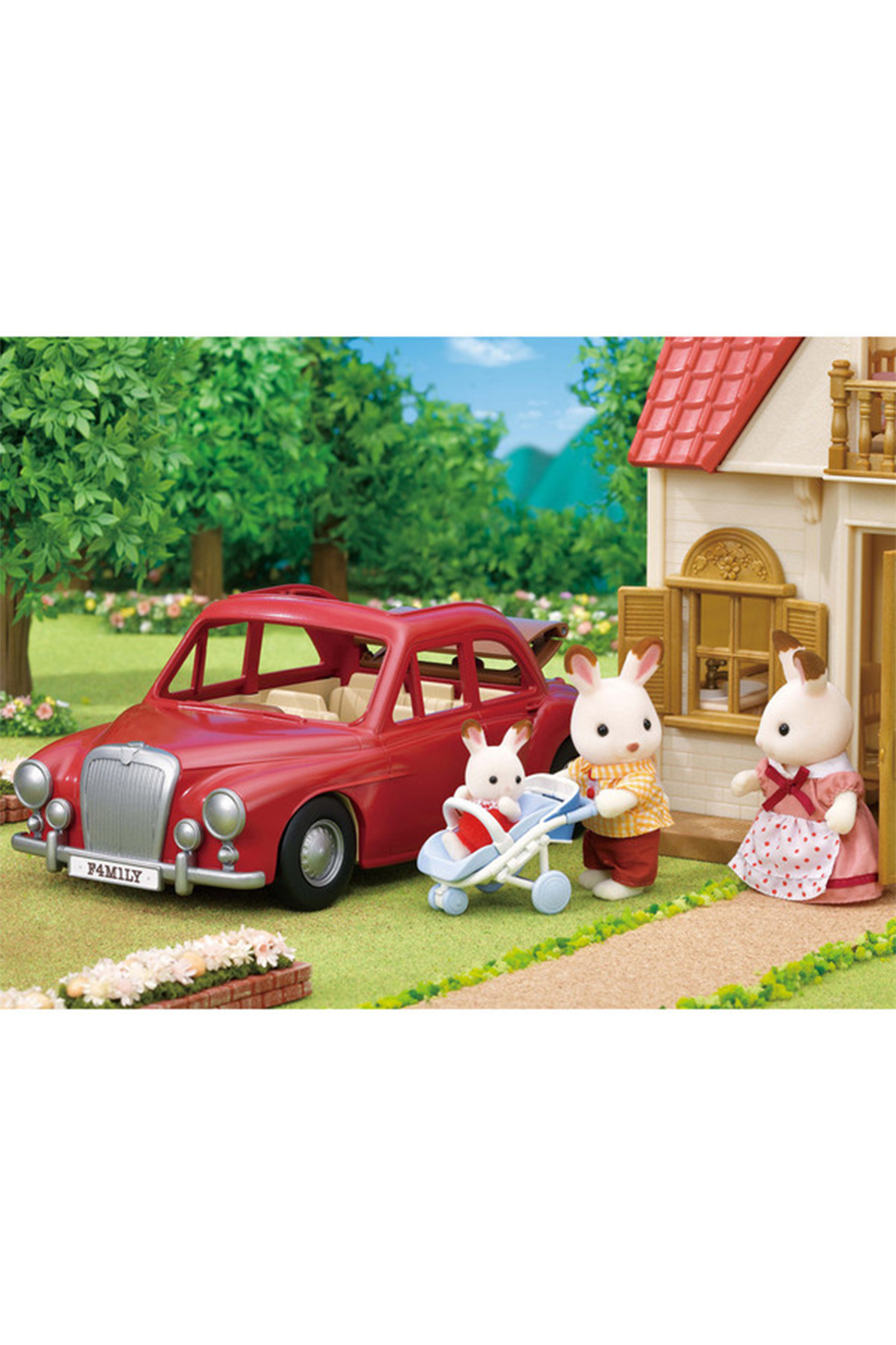 Calico Critters Family Cruising Car - Front Full Image