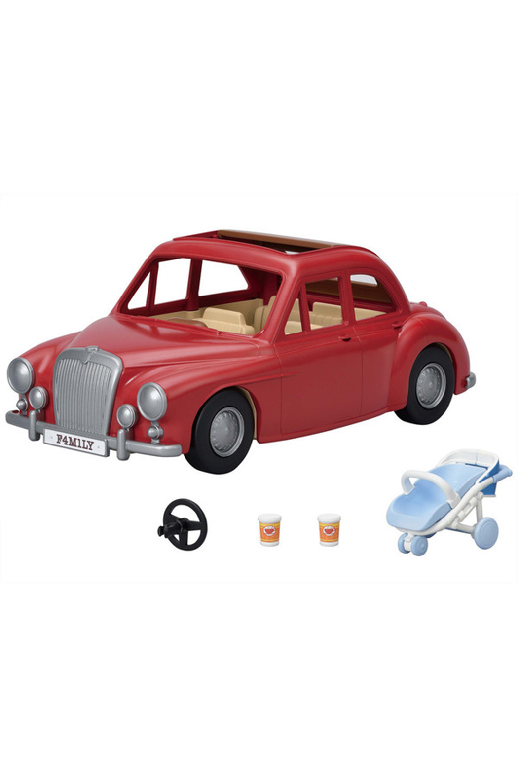 Calico Critters Family Cruising Car - Side Cropped Image