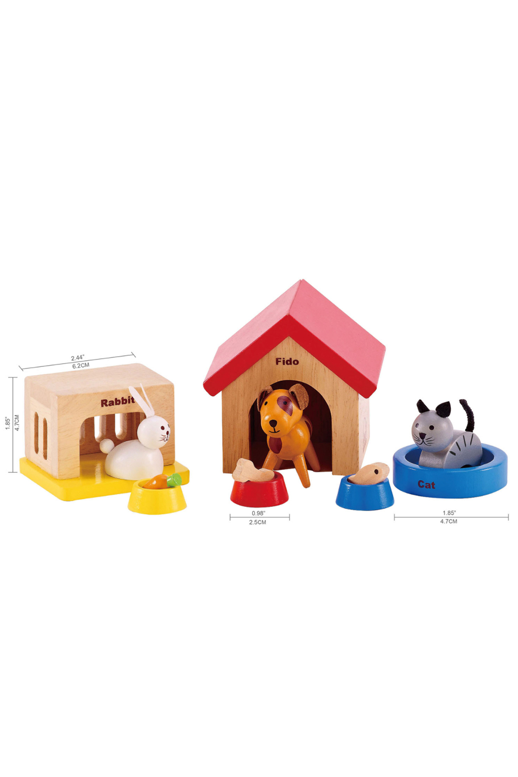 Hape Family Pets - Front Full Image