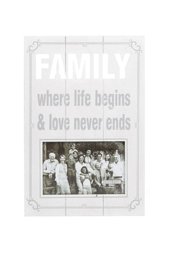 Shoptiques Product: Family Photo Frame