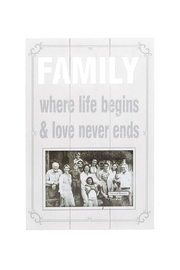 Ganz Family Photo Frame - Product Mini Image