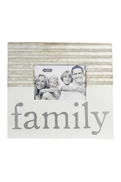 Mud Pie Family Picture Frame - Alternate List Image