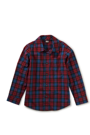 Tea Collection Family Plaid Button Shirt - Product Mini Image
