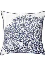 RIGHT SIDE DESIGN Fan Coral Indoor / Outdoor Pillow - Product Mini Image