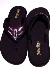 Glitterflops Fan Pride Flipflop - Front full body