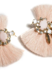 Shiraleah Fan Stud Blush Earring - Product Mini Image
