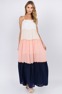 FANCO Color-Block Maxi Dress - Product List Image