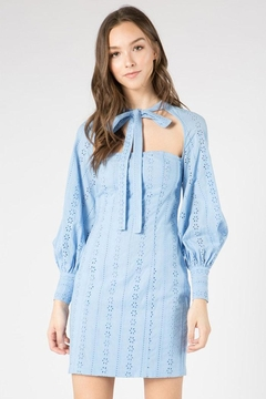 FANCO Cutout Eyelet Dress - Product List Image