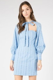 FANCO Cutout Eyelet Dress - Product Mini Image
