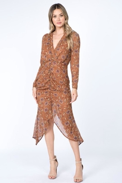 FANCO Floral Midi Dress - Product List Image