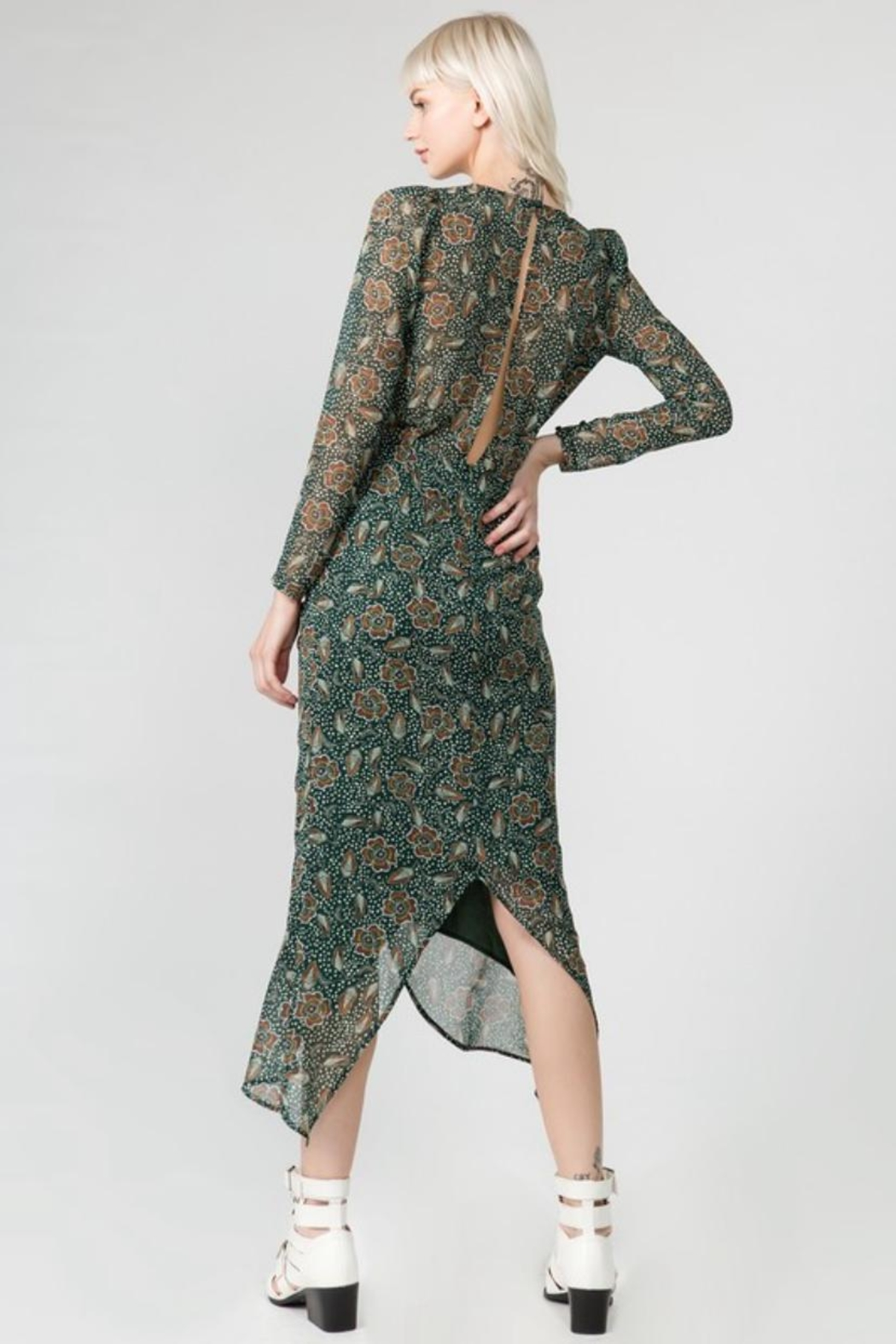 FANCO Floral Midi Dress - Front Full Image