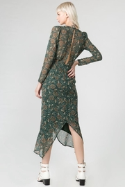 FANCO Floral Midi Dress - Front full body