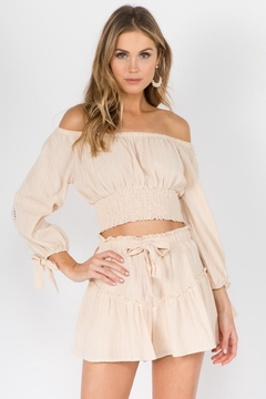 FANCO Off-Shoulder Skirt Set - Product List Image
