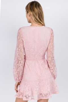 FANCO Pink Lace Dress - Alternate List Image