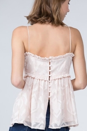 FANCO Ruffle Lace Cami - Side cropped