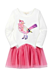 Baby Sara Fancy-Bird Drop-Waist Dress - Front cropped