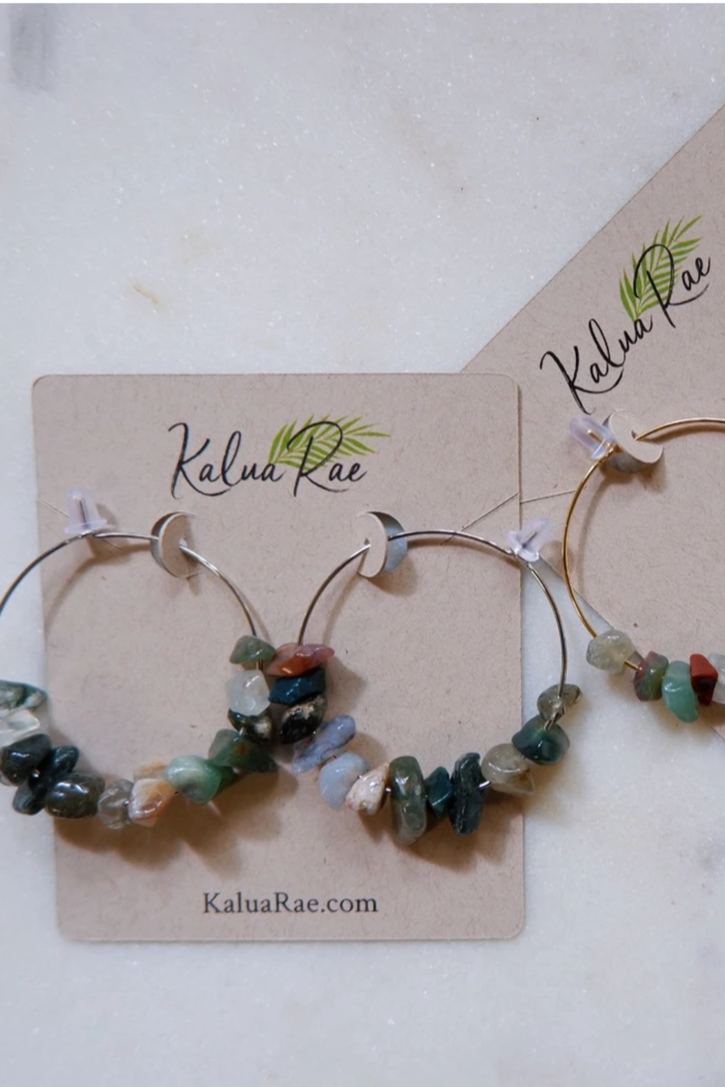Kalua Rae Jewelry Fancy Crystal Earrings - Front Full Image