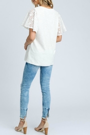 Doe & Rae Fancy Sleeve - Back cropped