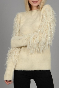 Shoptiques Product: Fancy Sleeves Sweater