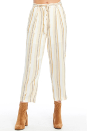 Saltwater Luxe FANCY STRIPED PANTS - Product Mini Image