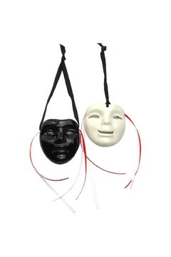 Fancy Faces Comedy & Tragedy Mini Masks - Alternate List Image