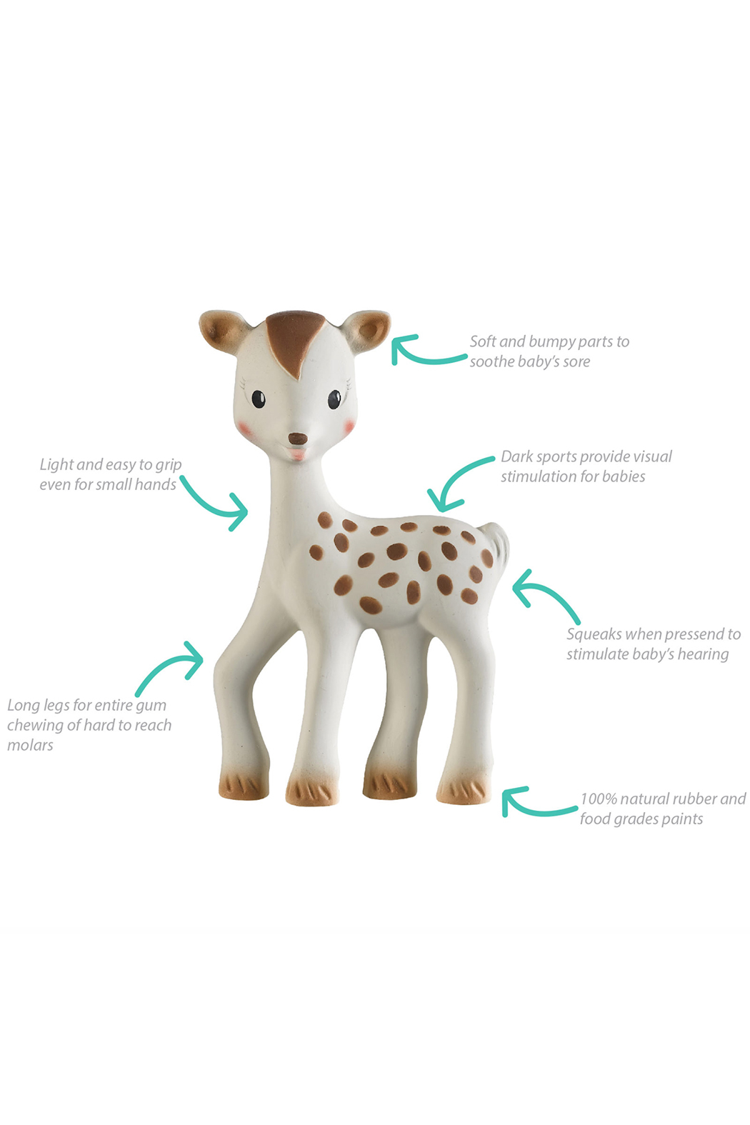 Calisson Inc Fanfan the Fawn - Front Full Image