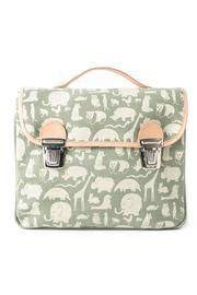FANNY & ALEXANDER Printed Canvas Satchel - Product Mini Image