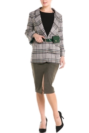 Her Bottari Fannypack Plaid Blazer - Product Mini Image