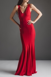 ZAC Zac Posen Fantasctic Red Gown - Product Mini Image