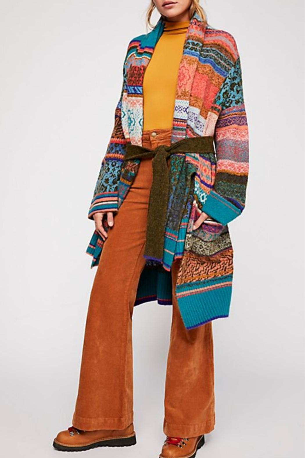 Free People Fantasia Sweater - Front Full Image