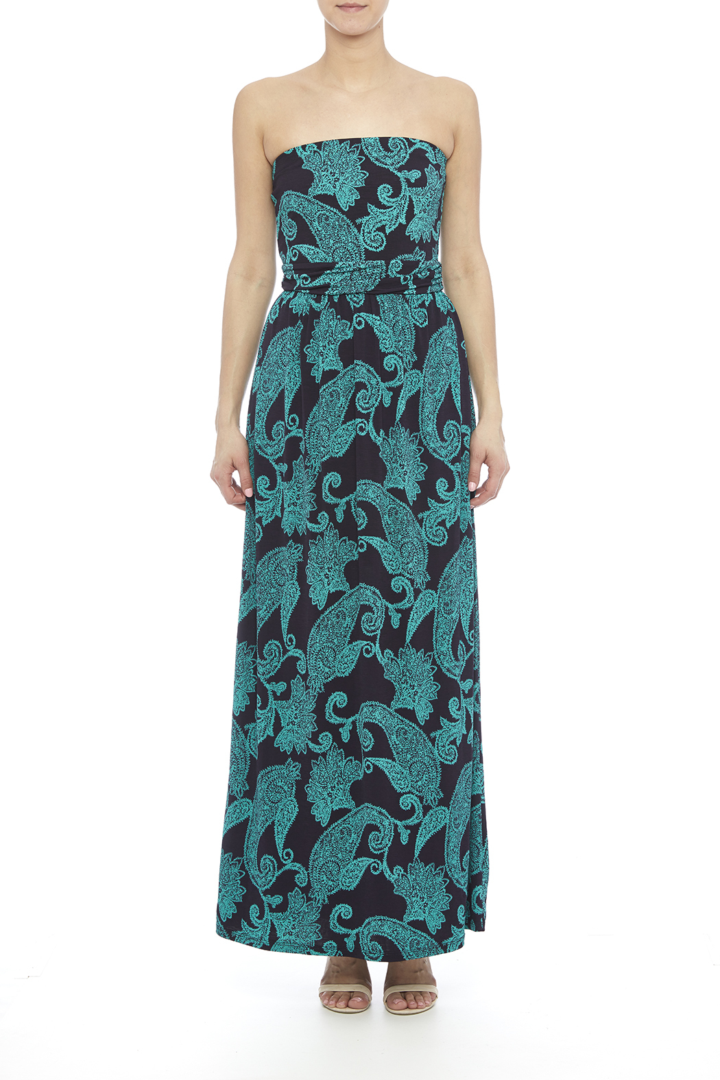 Fantastic Fawn Paisley Maxi - Front Cropped Image