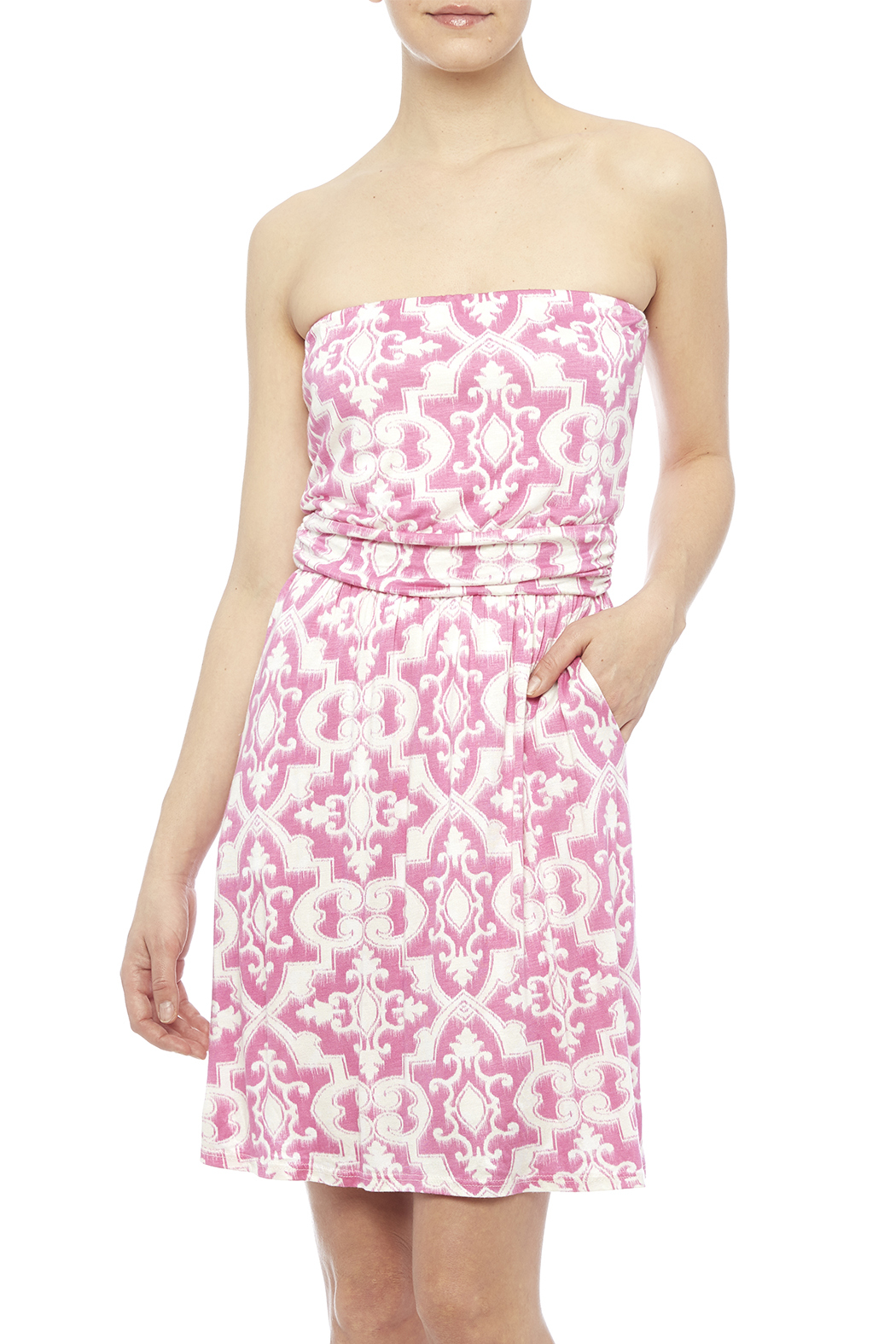 Fantastic Fawn Pink Pocket Dress - Main Image