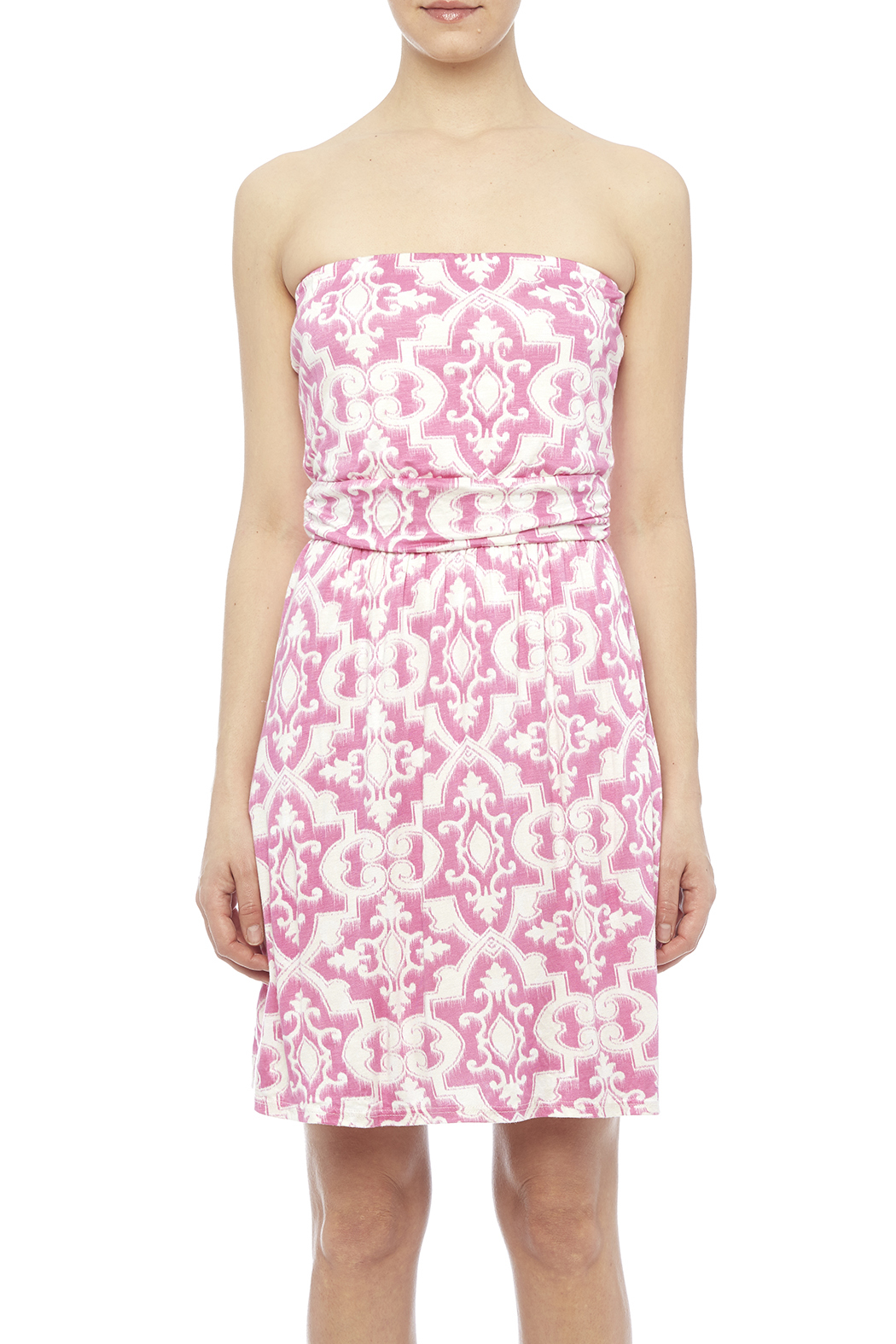Fantastic Fawn Pink Pocket Dress - Side Cropped Image