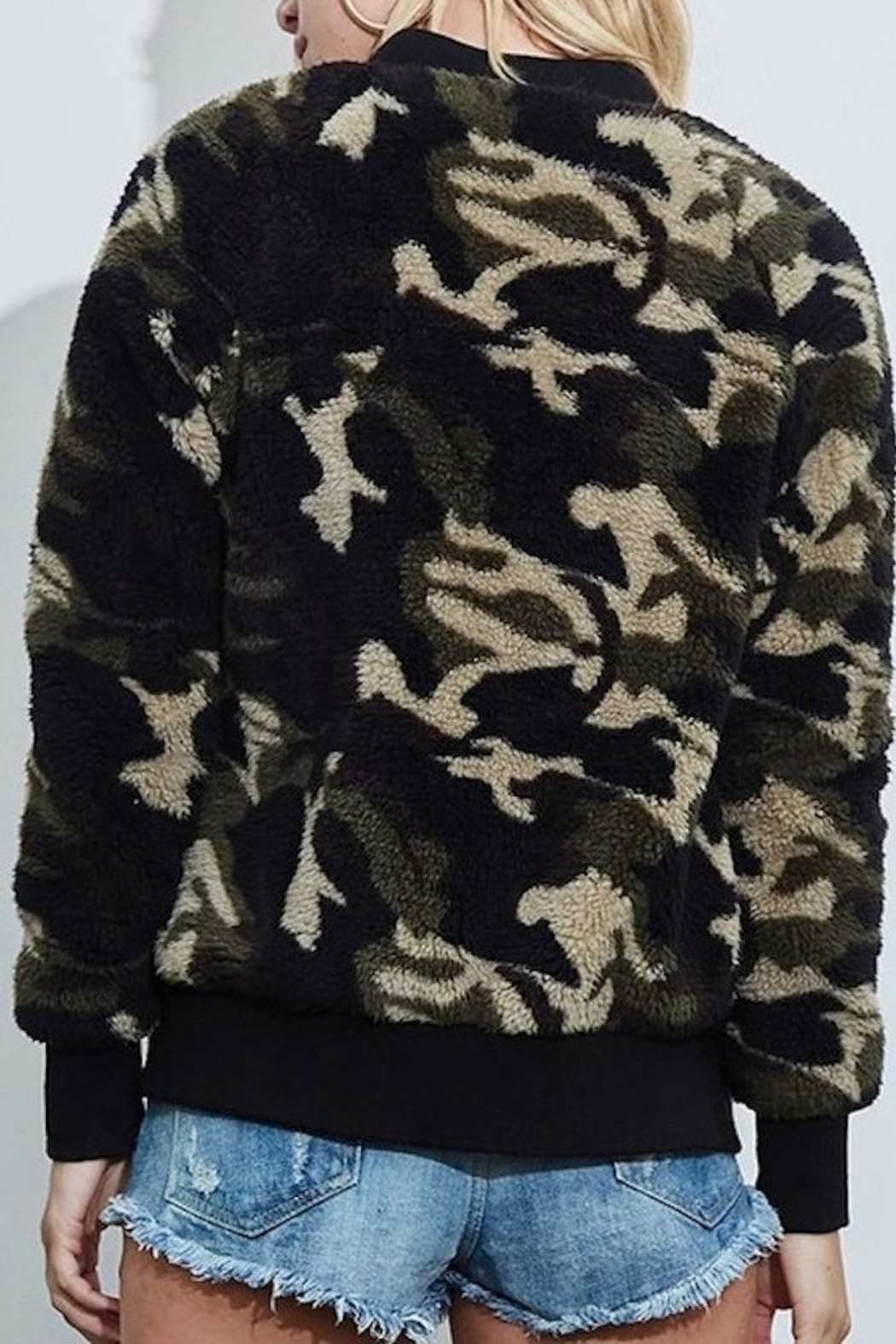 Fantastic Fawn Camo Jacket - Front Full Image