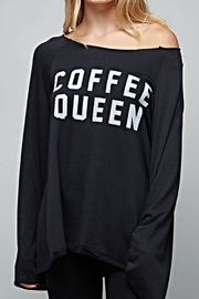 Fantastic Fawn Coffee Queen Shirt - Front full body