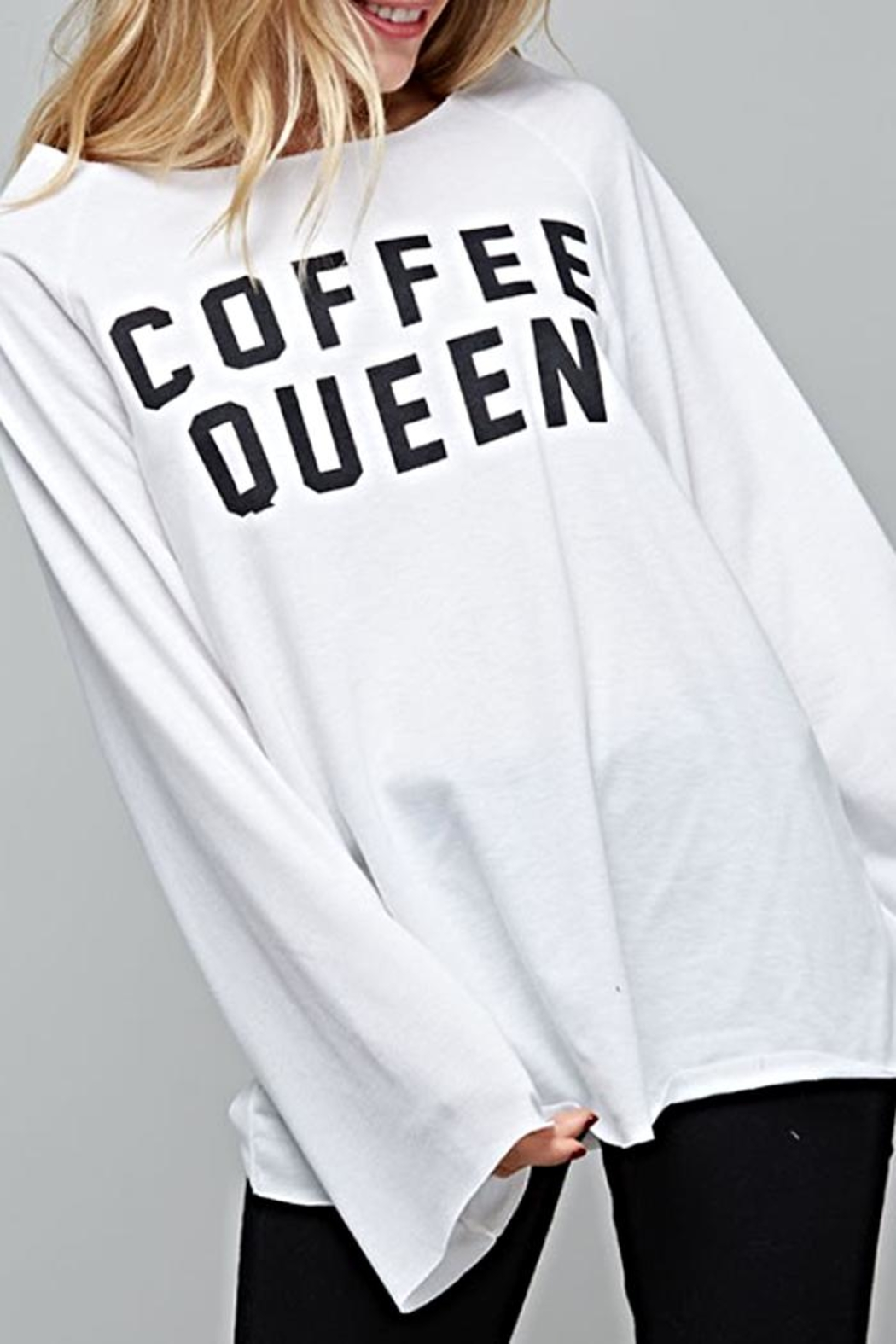 Fantastic Fawn Coffee Queen Shirt - Front Full Image