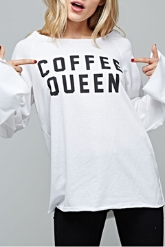 Shoptiques Product: Coffee Queen Shirt