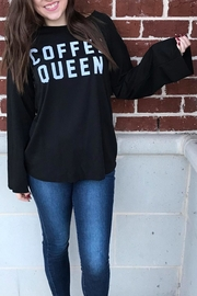Fantastic Fawn Coffee Queen Sweatshirt - Front cropped