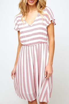 Fantastic Fawn Easy Striped Dress - Product List Image