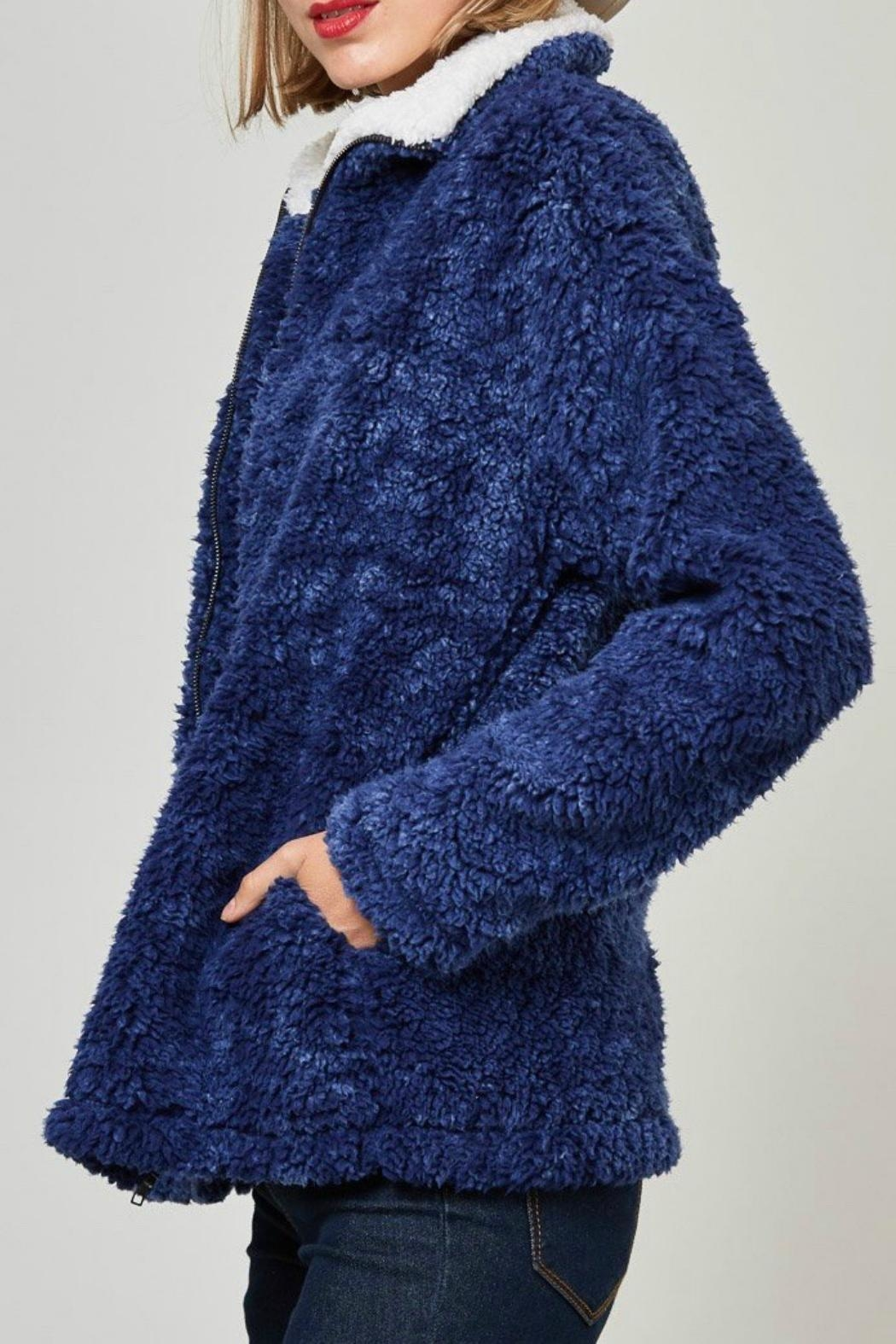 Fantastic Fawn Faux Sherpa Jacket - Front Full Image