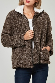 Fantastic Fawn Faux Sherpa Jacket - Product Mini Image
