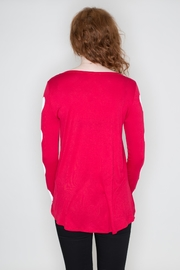 Fantastic Fawn Heart Sleeve Top - Side cropped