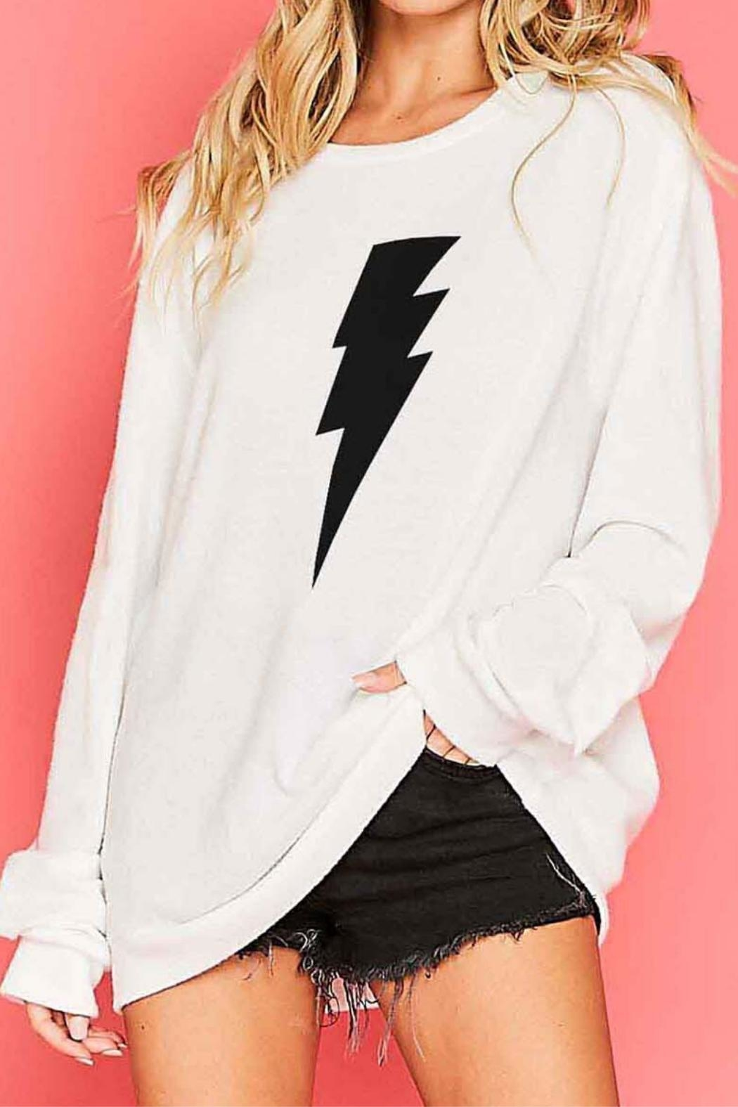 Fantastic Fawn Lightning Bolt Sweater - Main Image